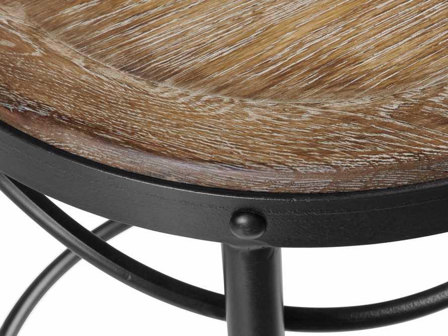"""Bistro 16"""" Barstool in Light Burnt Oak, slide 5 of 6"""