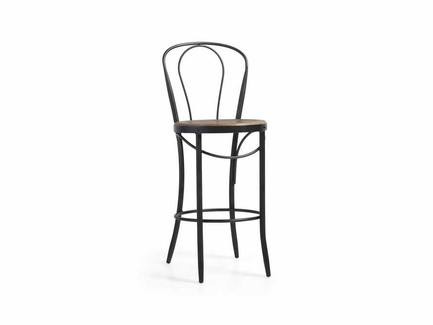 "Bistro 16"" Counter Stool in Light Burnt Oak, slide 2 of 5"