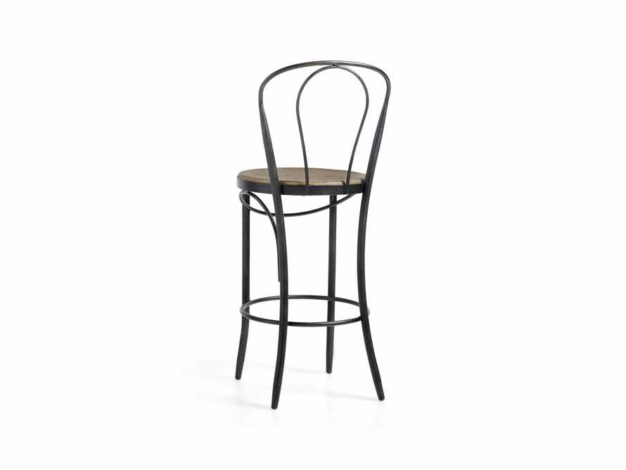 "Bistro 16"" Counter Stool in Light Burnt Oak, slide 3 of 5"