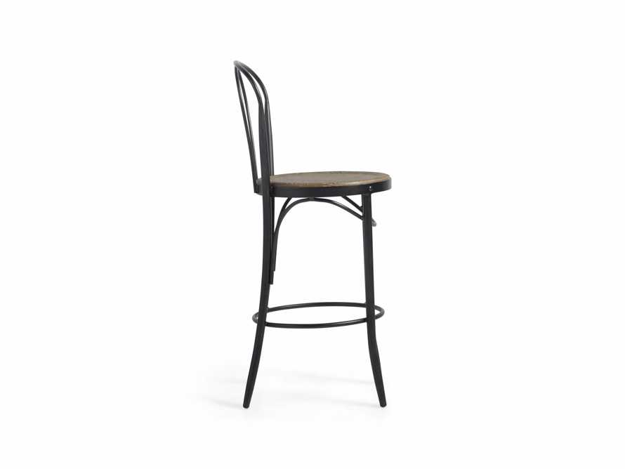 "Bistro 16"" Counter Stool in Light Burnt Oak, slide 4 of 5"