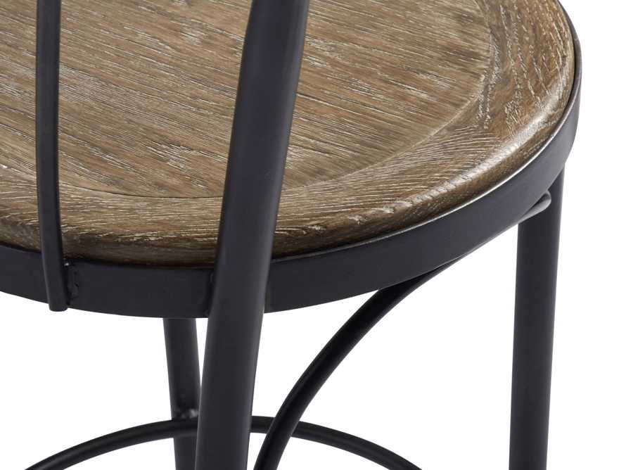 "Bistro 16"" Counter Stool in Light Burnt Oak, slide 5 of 5"
