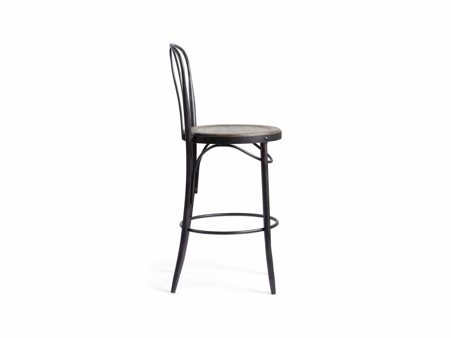 Bistro Counter Stool in Grey
