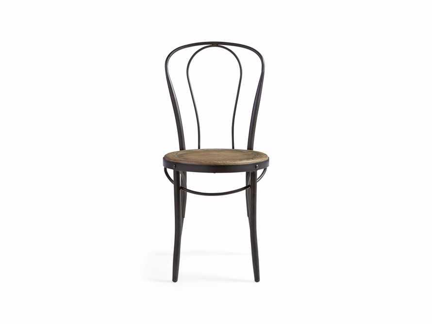 "Bistro 16"" Dining Side chair in Earl Grey, slide 1 of 5"