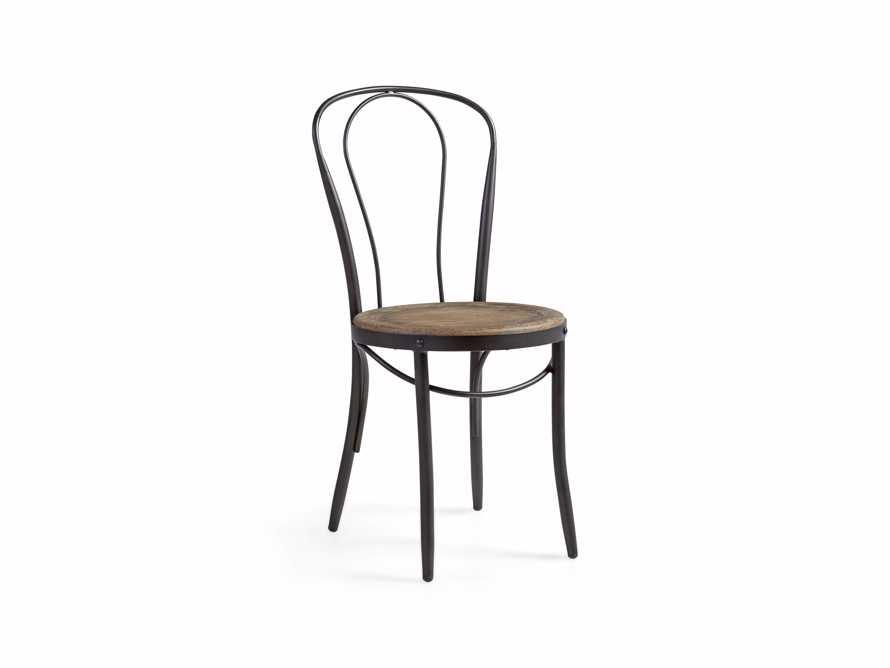 "Bistro 16"" Dining Side chair in Earl Grey, slide 2 of 5"