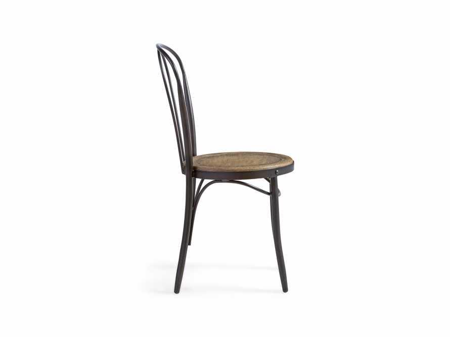 "Bistro 16"" Dining Side chair in Earl Grey, slide 3 of 5"