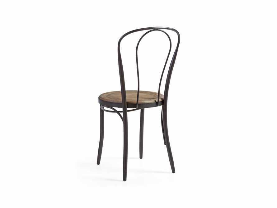 "Bistro 16"" Dining Side chair in Earl Grey, slide 4 of 5"