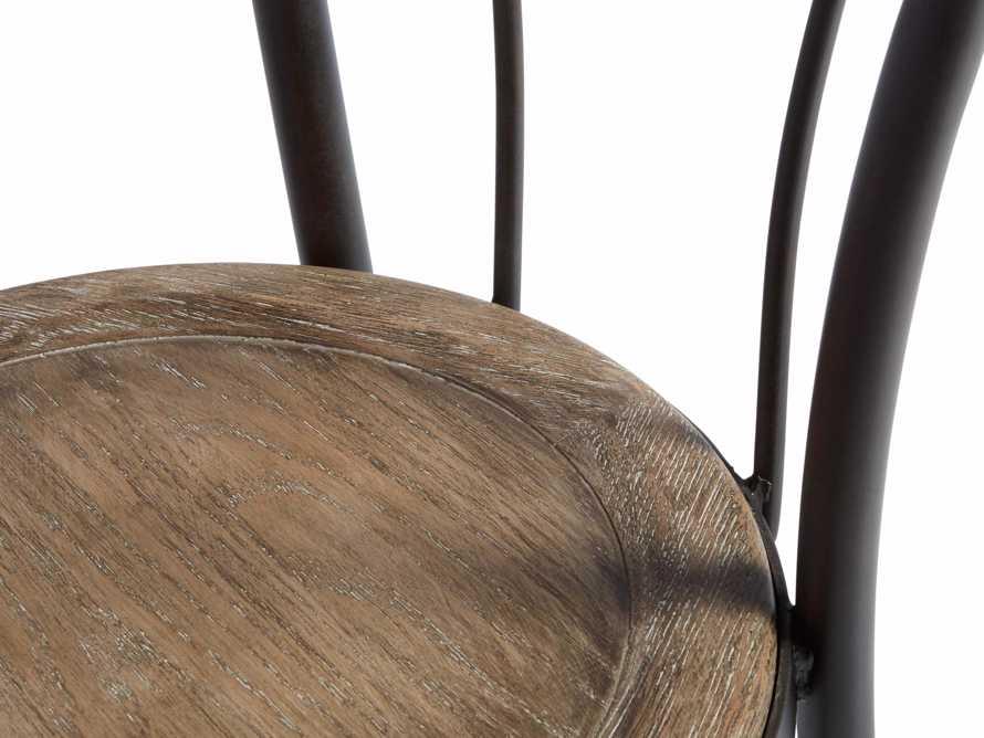"Bistro 16"" Dining Side chair in Earl Grey, slide 5 of 5"