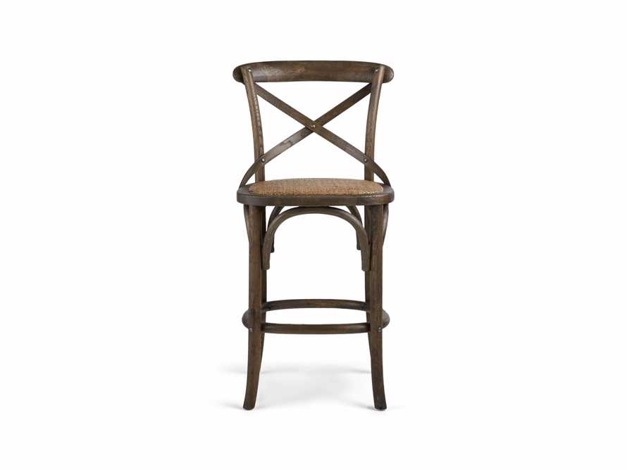 "Cadence 21"" Counter Stool in Dark Brown"