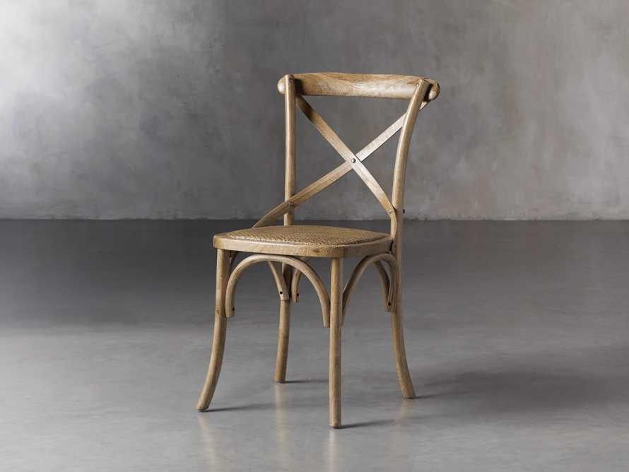 Cadence Dining Side Chair in Natural Weathered, slide 3 of 9