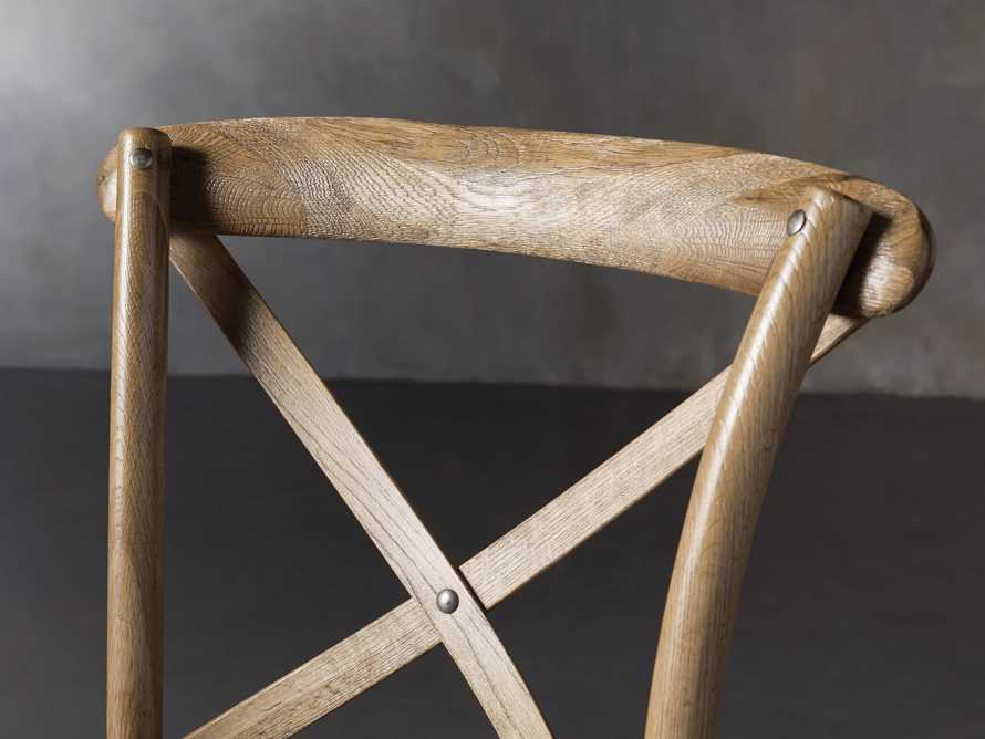 Cadence Dining Side Chair in Natural Weathered, slide 6 of 9