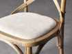 "Cadence 20"" Counter Stool with Linen Seat in Natural Weathered"