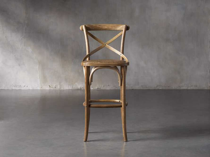 "Cadence 18"" Bar Stool in Natural Weathered, slide 1 of 8"
