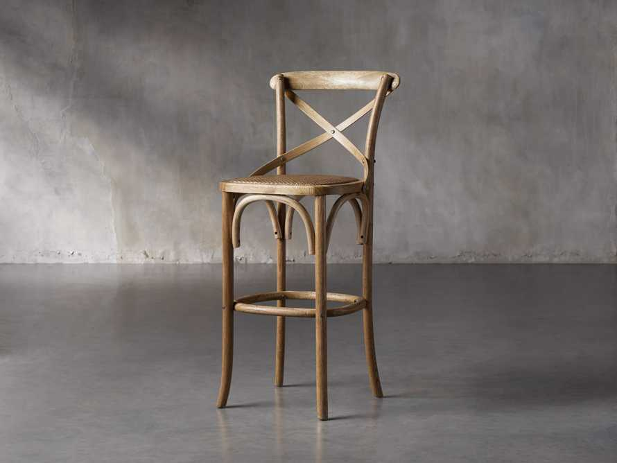 "Cadence 18"" Bar Stool in Natural Weathered, slide 2 of 8"
