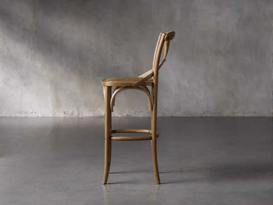 "Cadence 18"" Bar Stool in Natural Weathered, slide 3 of 8"