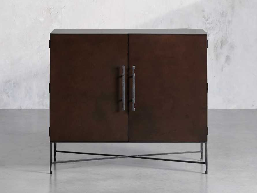 """Cahlo 50"""" Bar Cabinet in Chocolate Copper, slide 1 of 10"""