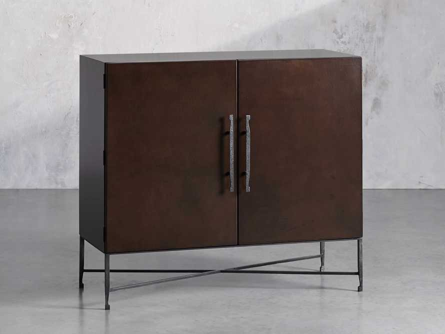"""Cahlo 50"""" Bar Cabinet in Chocolate Copper, slide 2 of 10"""
