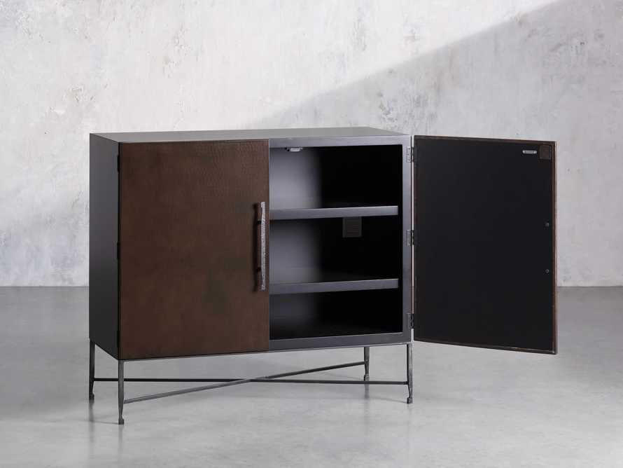 """Cahlo 50"""" Bar Cabinet in Chocolate Copper, slide 3 of 10"""