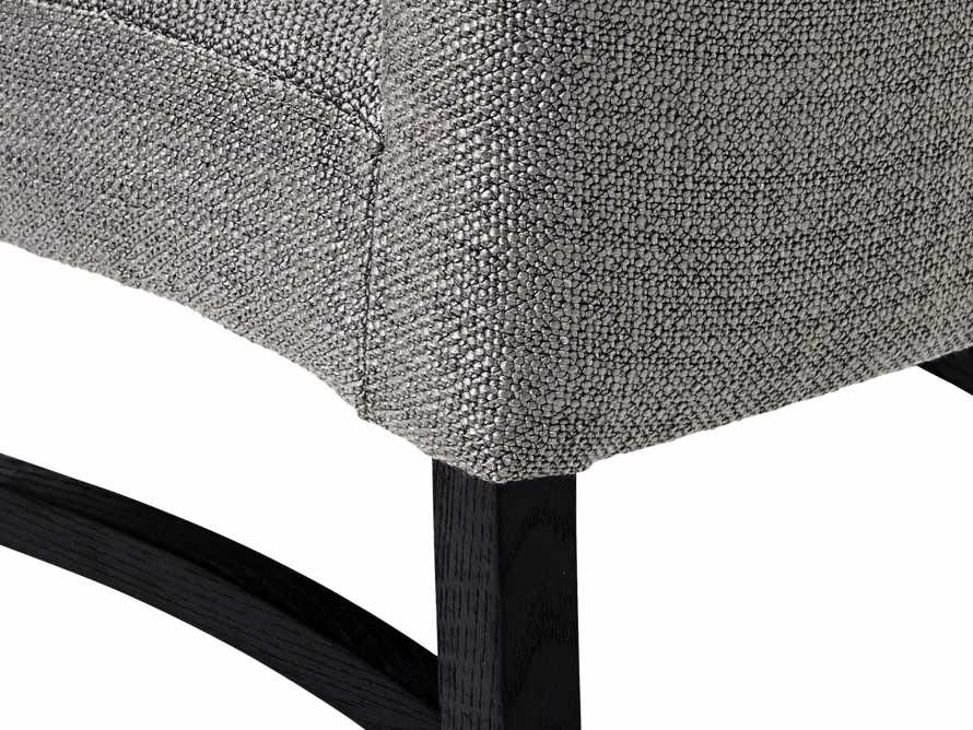 "Capri Upholstered 19"" Dining Side Chair, slide 6 of 6"