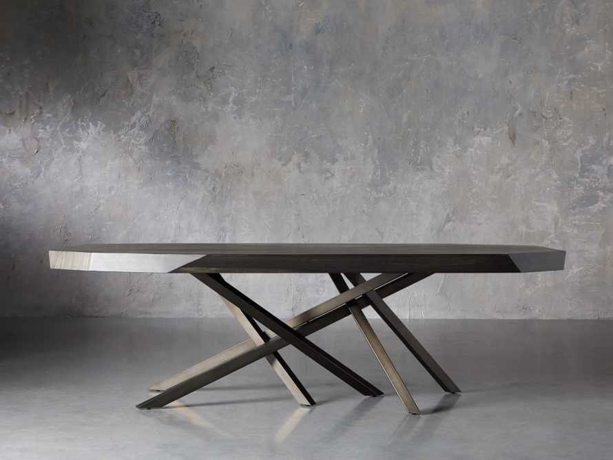 "Carrinna 84"" Dining Table in Oscuro"