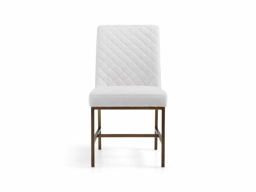 "Cava Upholstered 20"" Dining Side Chair, slide 2 of 11"