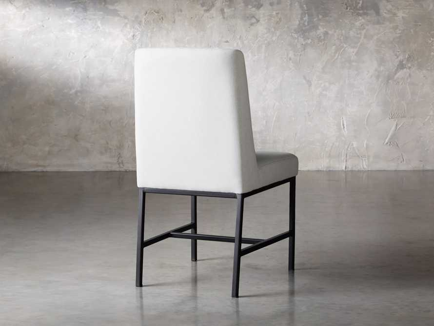 "Cava 20"" Dining Side Chair with Black Base in Sunday Stone, slide 5 of 9"
