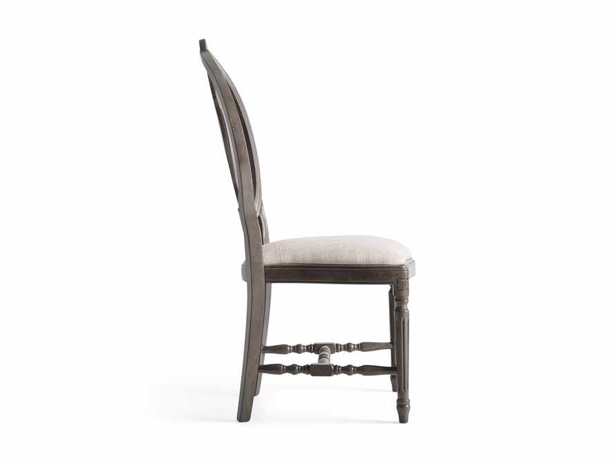 "Cecilia 20"" Dining Side Chair with Upholstered Seat in Grigio, slide 10 of 10"