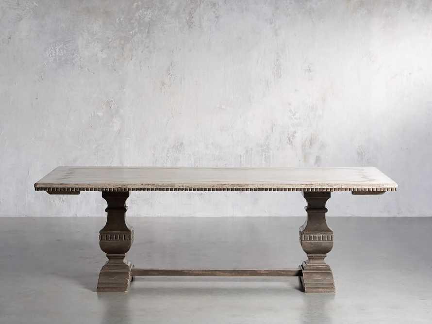 "Cerea 78"" Rectangle Bell'Arte Dining Table, slide 2 of 14"