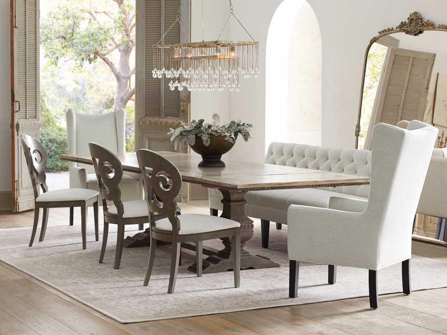 "Cerea 78"" Rectangle Bell'Arte Dining Table, slide 8 of 14"