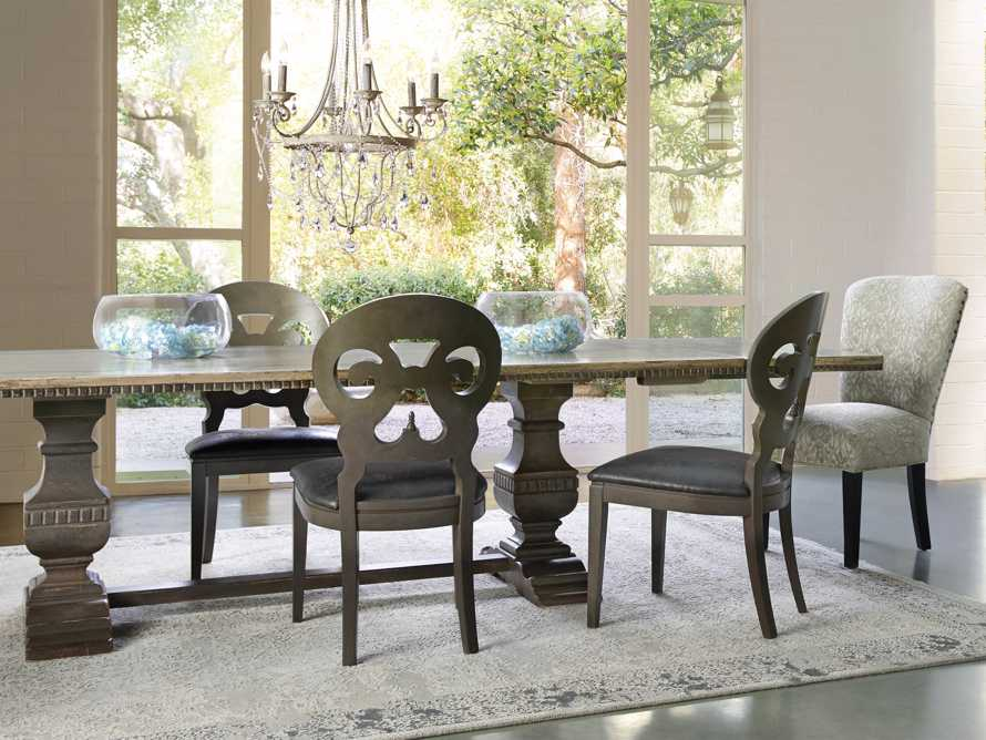 "Cerea 78"" Rectangle Bell'Arte Dining Table, slide 9 of 14"
