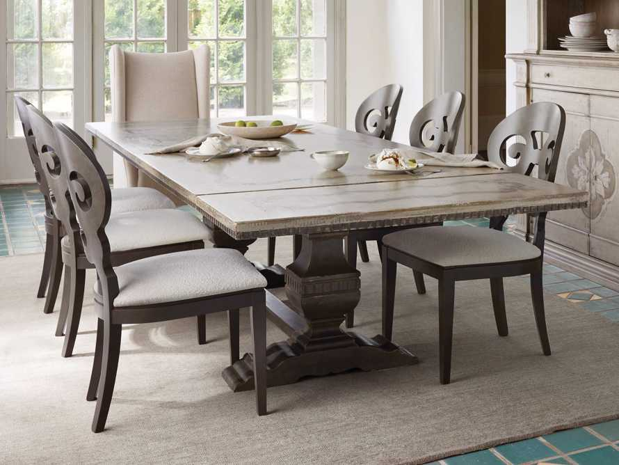 "Cerea 78"" Rectangle Bell'Arte Dining Table, slide 11 of 14"
