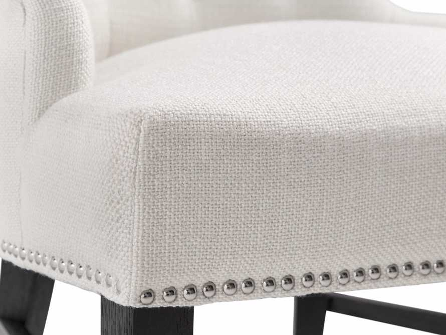 """Claybourne Upholstered 28"""" Dining Arm Chair, slide 7 of 9"""