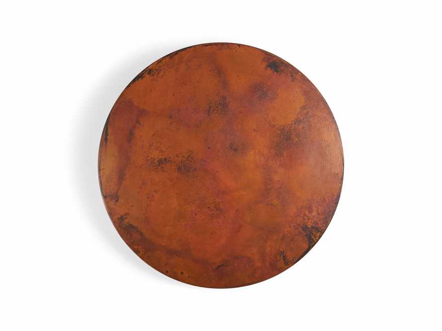 """Wade 48"""" Copper Round Dining Table, slide 6 of 7"""