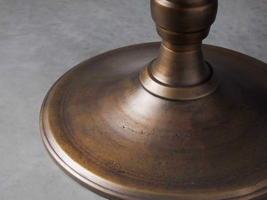 """Wade 54"""" Copper Round Dining Table"""