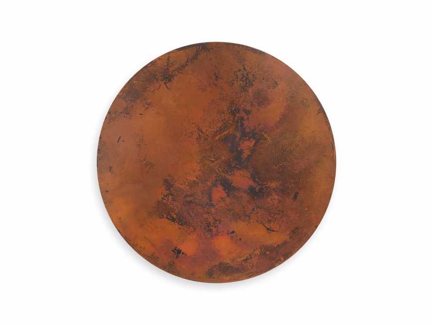 "Copper 38"" Round Table Top With Kenya Counter Base"
