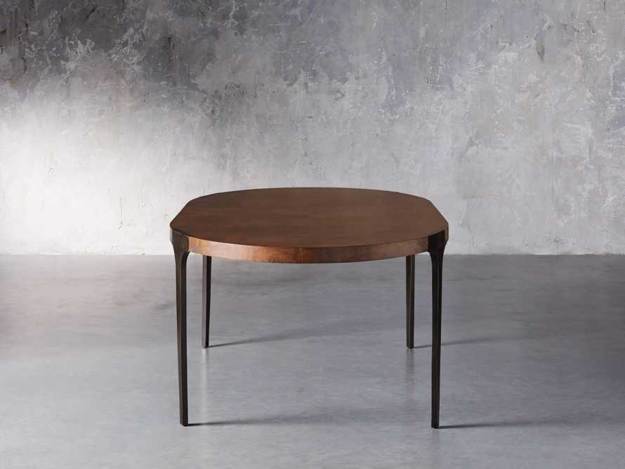 "Cordelia 88"" Oval Dining Table, slide 5 of 10"
