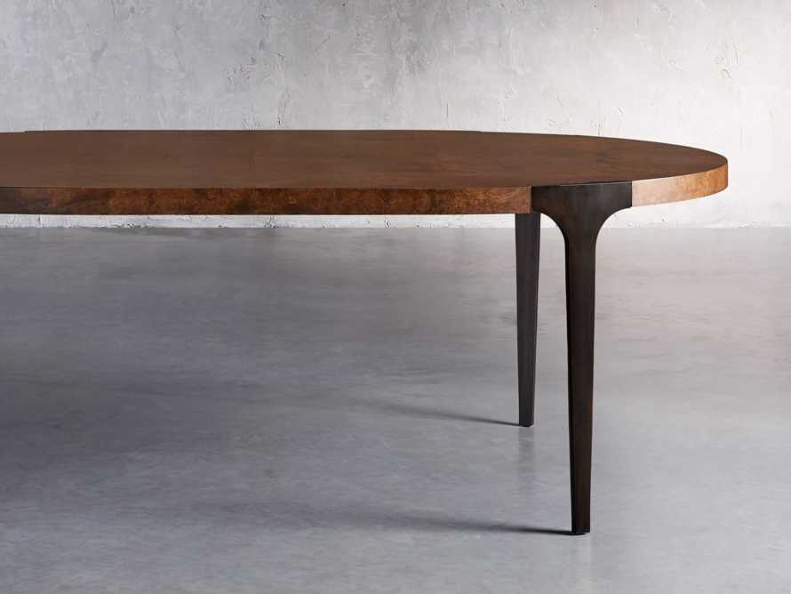 "Cordelia 88"" Oval Dining Table, slide 2 of 10"