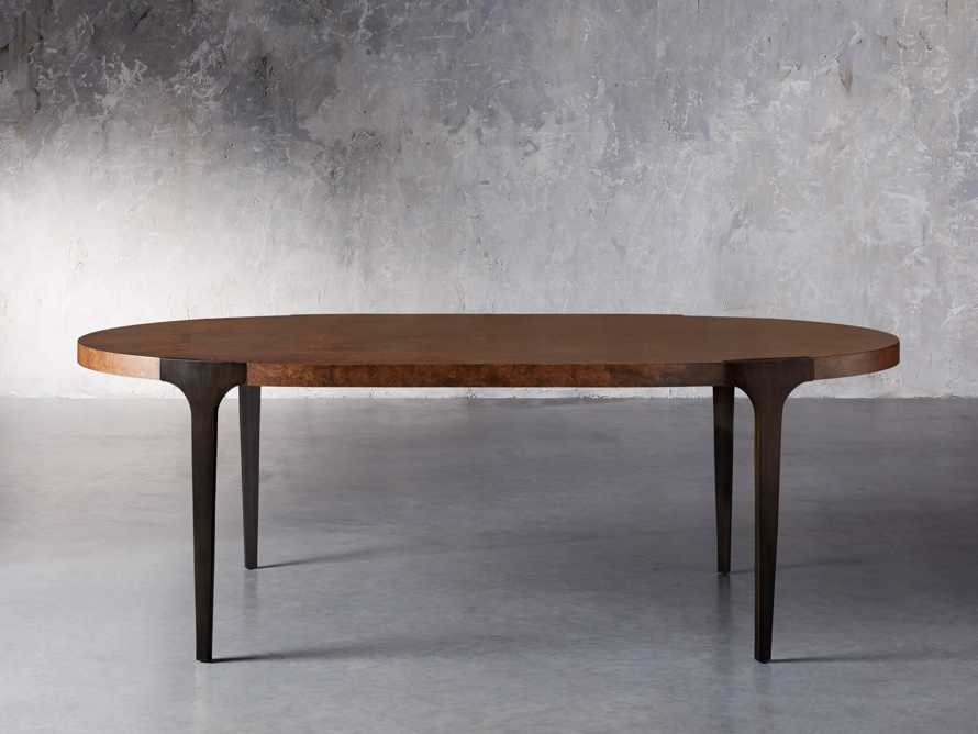 "Cordelia 88"" Oval Dining Table, slide 3 of 10"