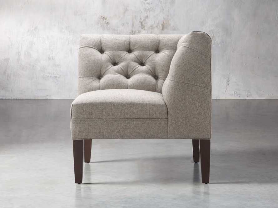 "Eaton Upholstered 32"" Tufted Corner"
