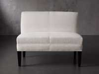"""Eaton (No Toss Pillow) Upholstered Non-Tufted 42"""" Bench"""