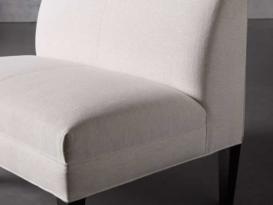 "Eaton (No Toss Pillow) Upholstered Non-Tufted 42"" Bench, slide 5 of 7"