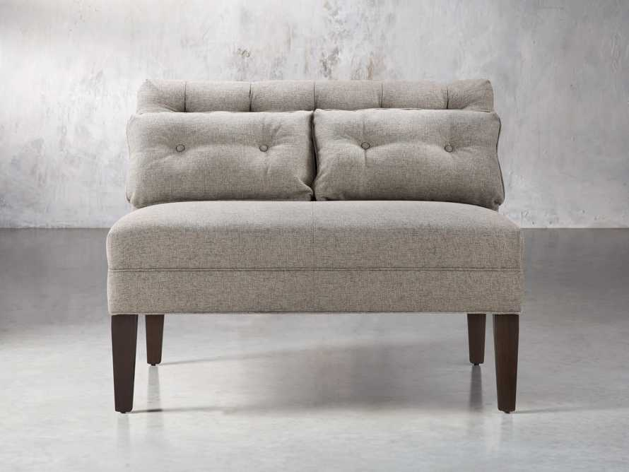 "Eaton Upholstered 41"" Tufted Bench, slide 1 of 7"