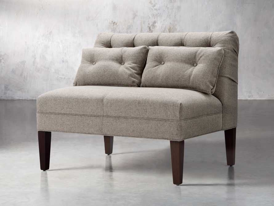 "Eaton Upholstered 41"" Tufted Bench, slide 3 of 7"