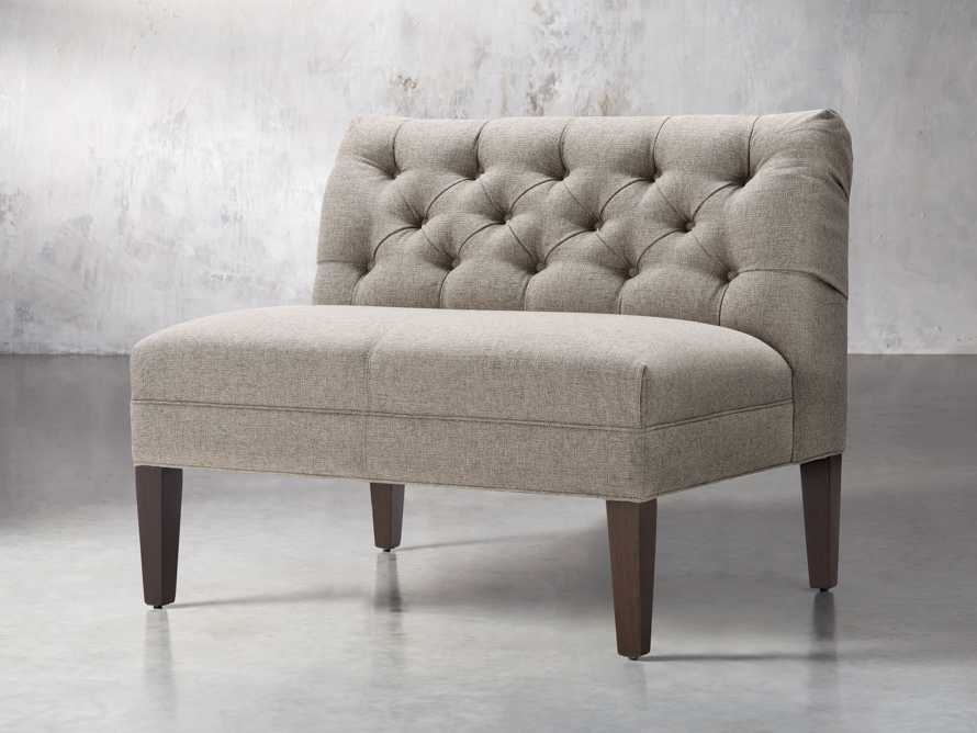 "Eaton Upholstered 41"" Tufted Bench, slide 4 of 7"