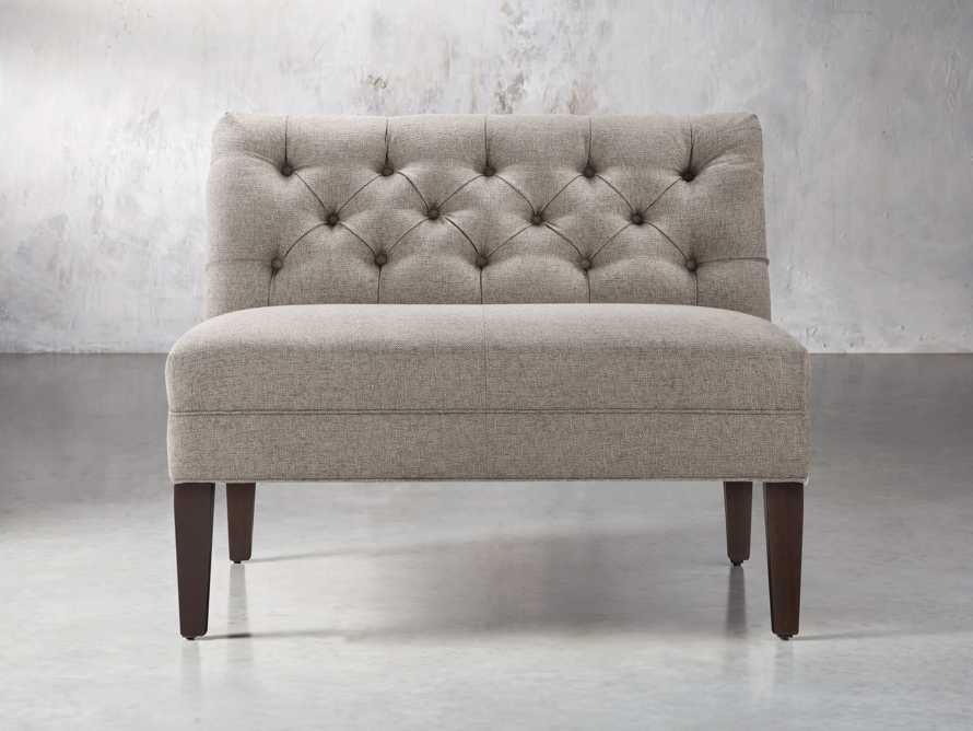 "Eaton Upholstered 41"" Tufted Bench, slide 2 of 7"