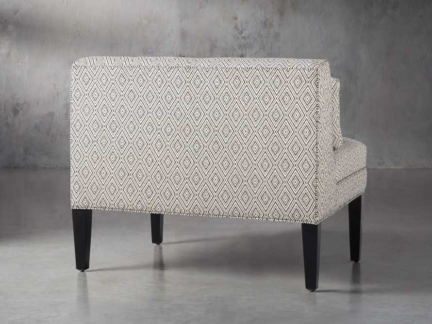 "Eaton Upholstered 41"" Non-Tufted Bench in Davos Night, slide 3 of 4"