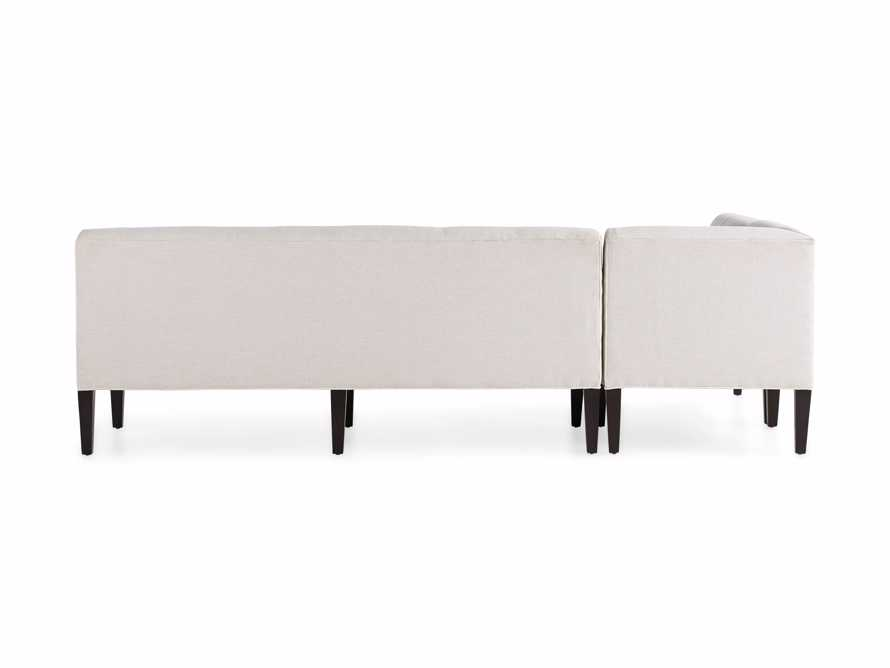 Eaton (No Toss Pillow) Upholstered Non-Tufted Banquette, slide 9 of 9