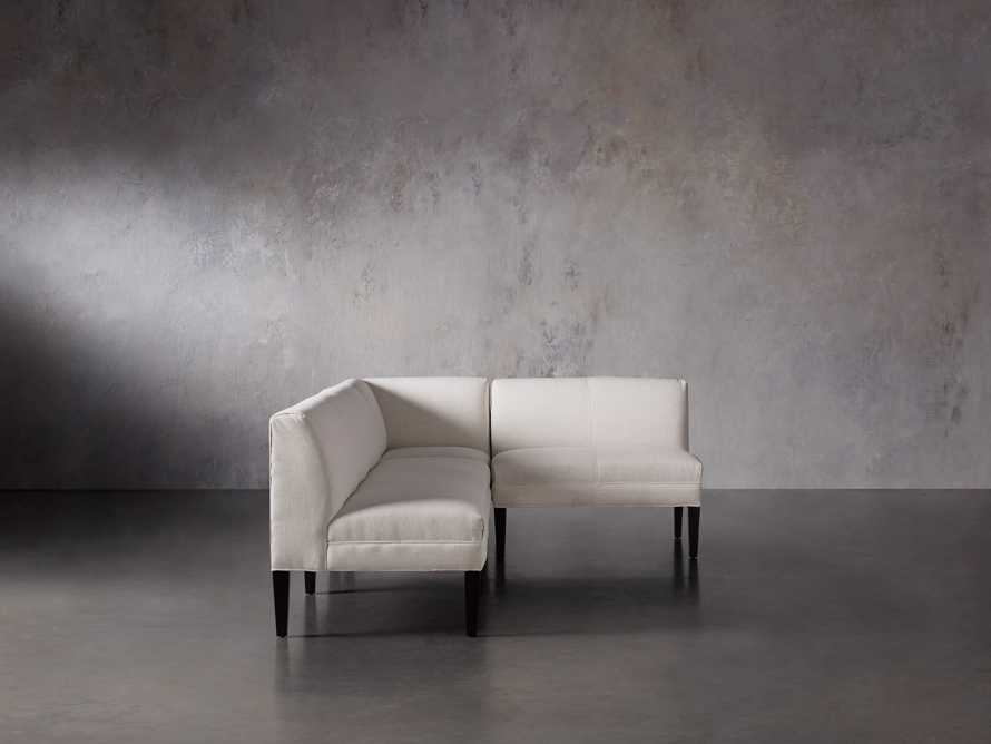 Eaton (No Toss Pillow) Upholstered Non-Tufted Banquette, slide 4 of 9