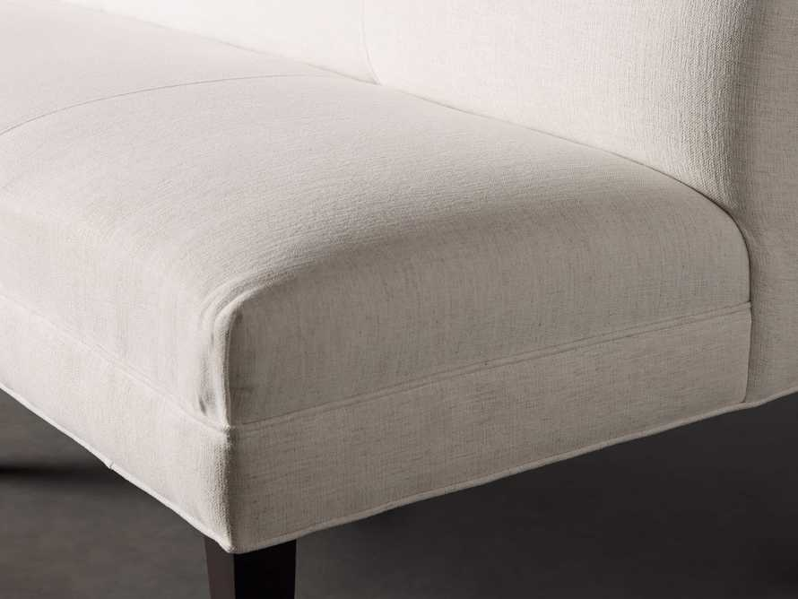Eaton (No Toss Pillow) Upholstered Non-Tufted Banquette, slide 6 of 9