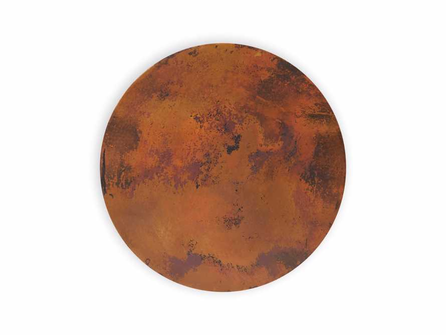 """Edison 36"""" Round Copper Table Top With Small Edison Base, slide 2 of 4"""
