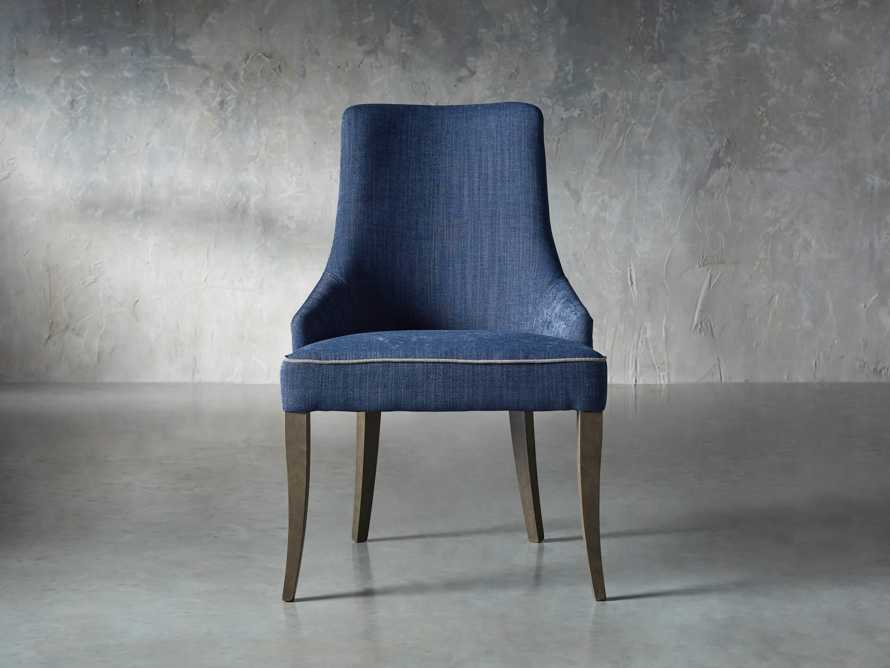 Elisa Dining Chair in Indaco Blue, slide 1 of 7